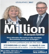 Legislatives 2017 Lara Million